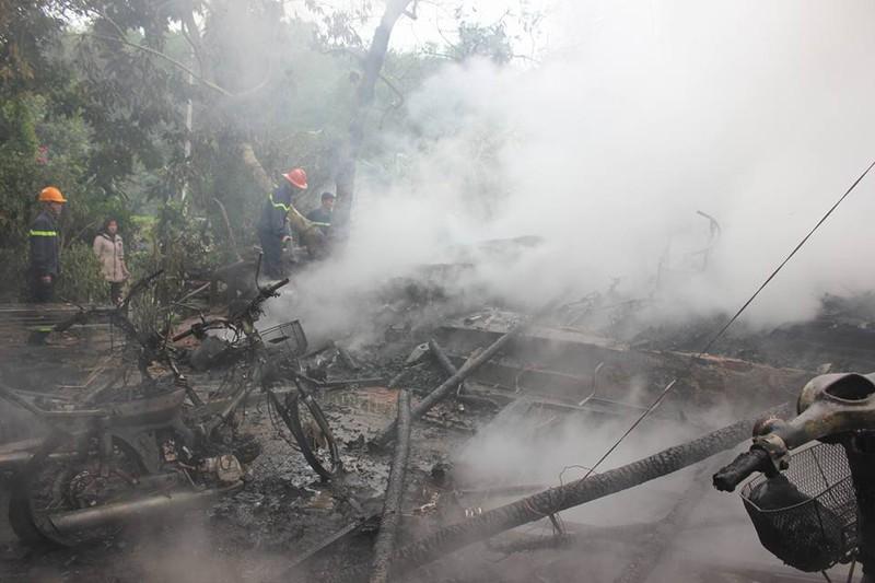 Ngày đầu năm, cháy nhà thiệt hại gần 100 triệu đồng - ảnh 2