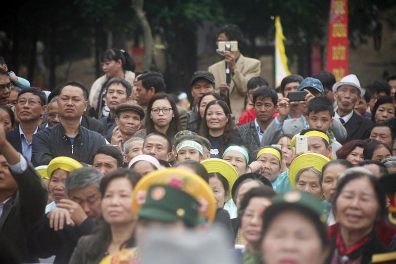 Hàng ngàn người dân dự lễ hội Gò Đống Đa - ảnh 2