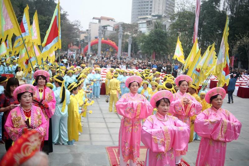 Hàng ngàn người dân dự lễ hội Gò Đống Đa - ảnh 3