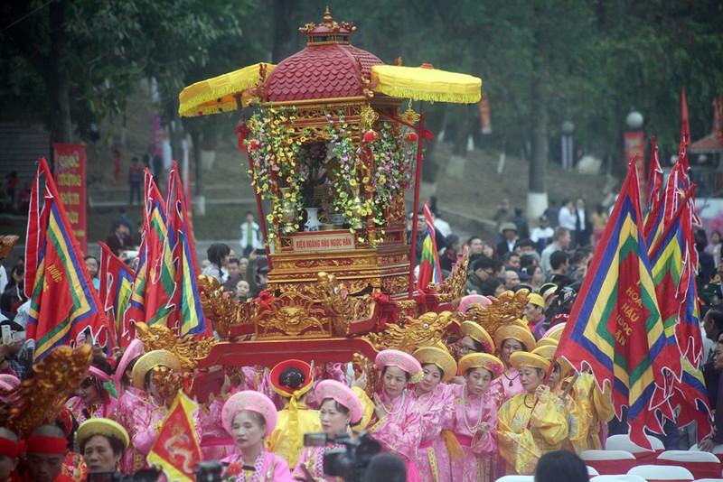 Hàng ngàn người dân dự lễ hội Gò Đống Đa - ảnh 4