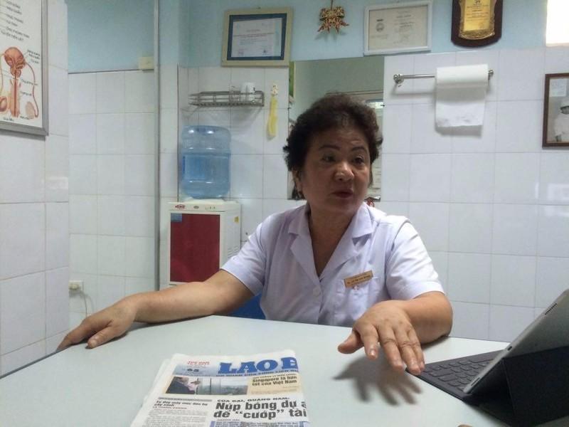 BS Lê Thị Kim Dung - Trung tâm y khoa Thái Hà.