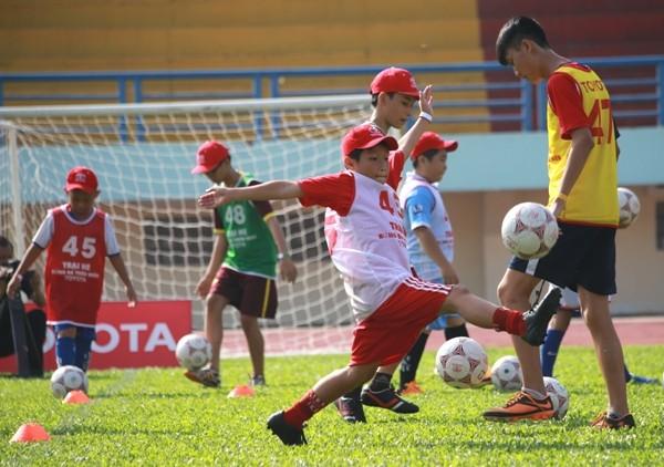 Kết thúc vòng sơ tuyển Trại hè bóng đá thiếu niên Toyota 2016 - ảnh 1