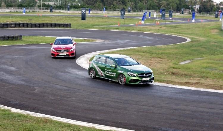 Hứng khởi với học viện lái xe an toàn Mercedes-Benz 2016 - ảnh 6