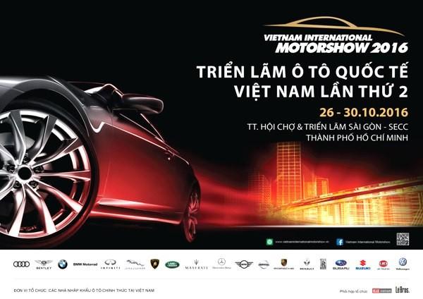 """19 hãng xe nổi tiếng sắp """"show hàng"""" ở TP.HCM - ảnh 1"""