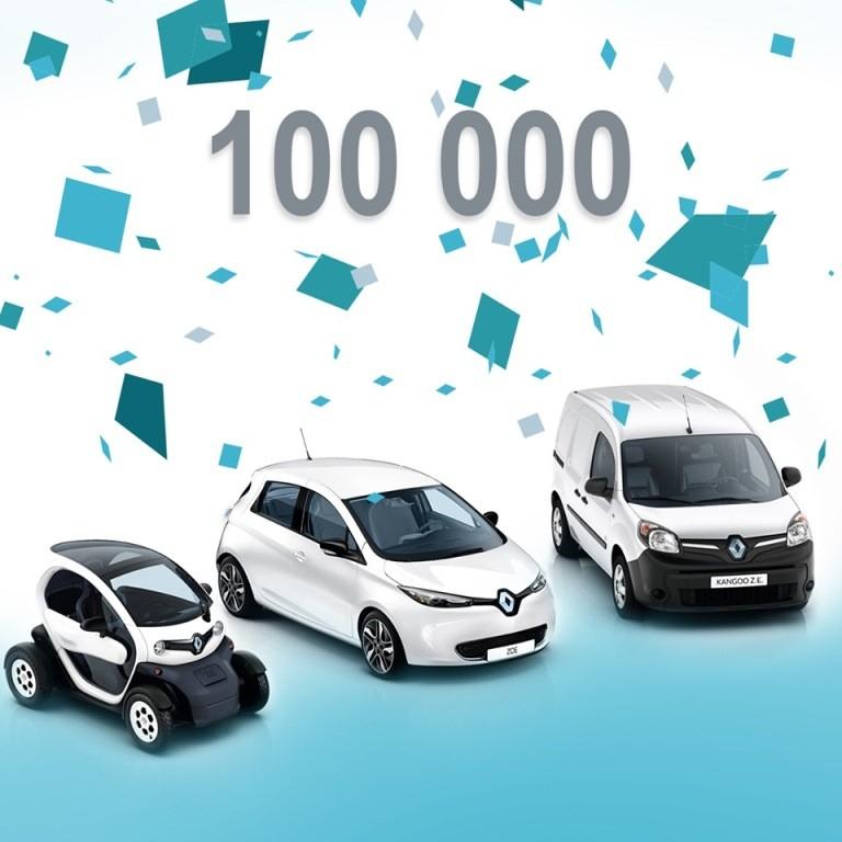 Renault bàn giao chiếc xe điện thứ 100.000 - ảnh 2