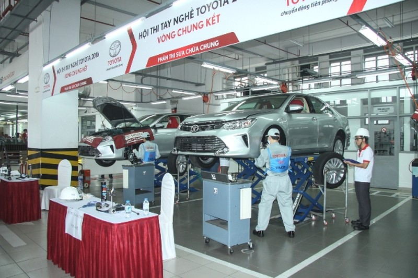 Hội thi tay nghề Toyota 2016 - lần thứ 18 - ảnh 1