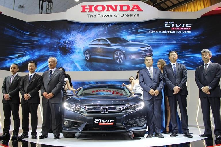 Civic mới và CR-V đặc biệt của Honda Việt Nam - ảnh 1