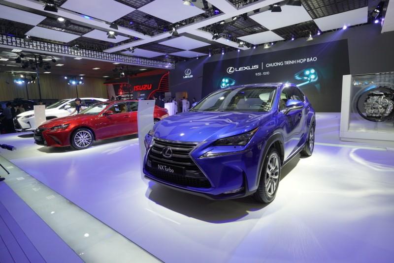 Bốn mẫu xe Lexus ấn tượng tại triển lãm ô tô 2016 - ảnh 1
