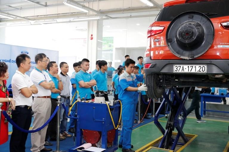 Ford VN tổ chức Hội thi tay nghề dịch vụ toàn quốc - ảnh 1
