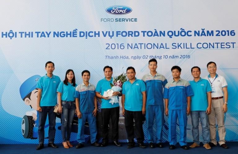 Ford VN tổ chức Hội thi tay nghề dịch vụ toàn quốc - ảnh 4