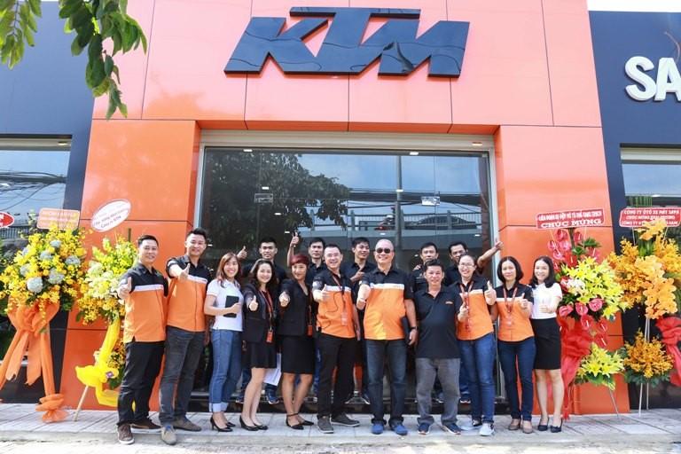 Hãng mô tô KTM công bố nhà cung cấp độc quyền tại VN - ảnh 1
