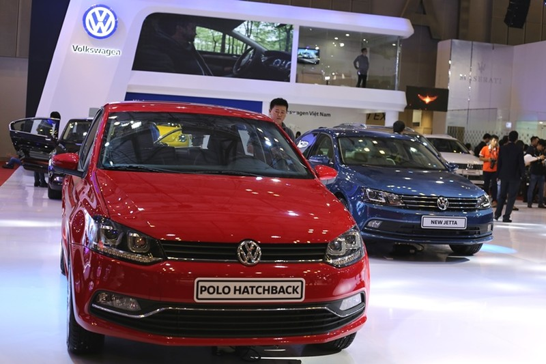 Đến chiêm ngưỡng 150 mẫu xe mới nhất tại SECC - ảnh 2