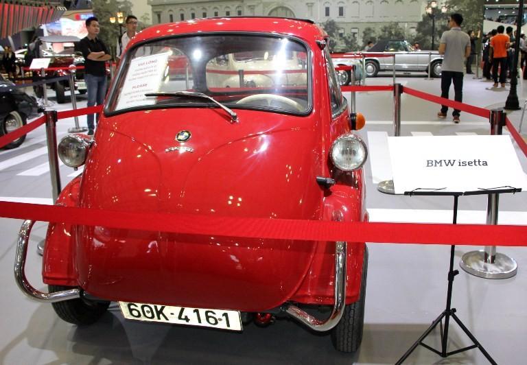 Một góc xe cổ tại triển lãm VIMS 2016 - ảnh 4