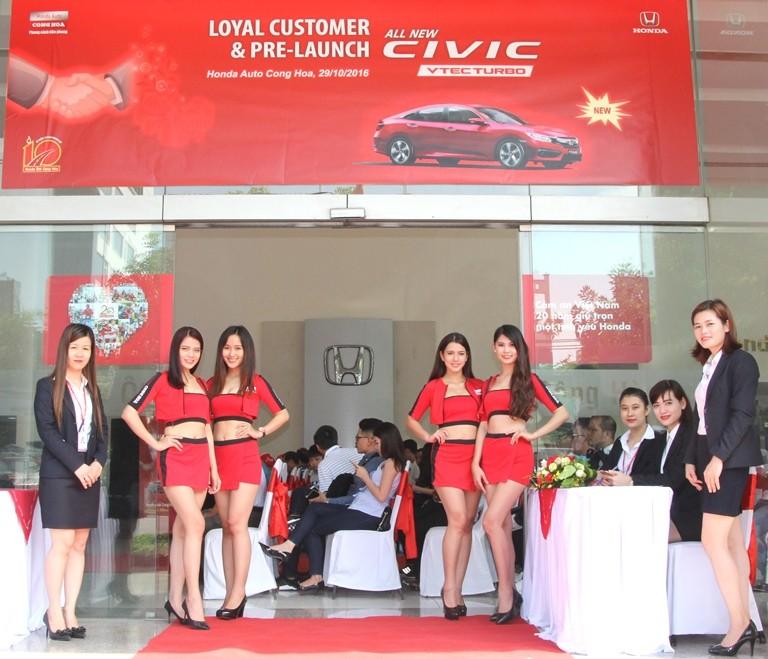 Honda Cộng Hòa tri ân khách hàng và ra mắt Civic 2017 - ảnh 1
