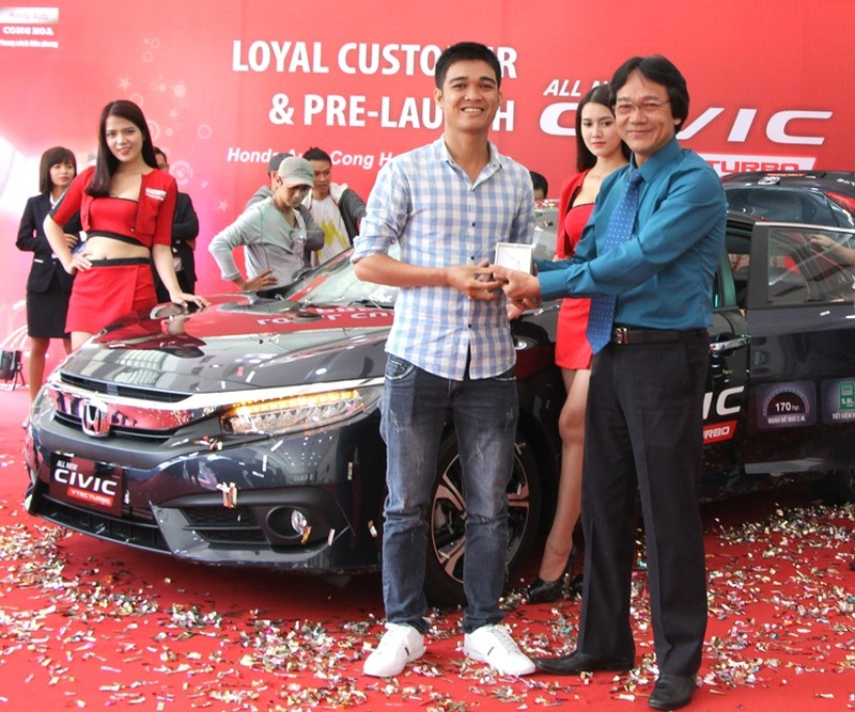 Honda Cộng Hòa tri ân khách hàng và ra mắt Civic 2017 - ảnh 6