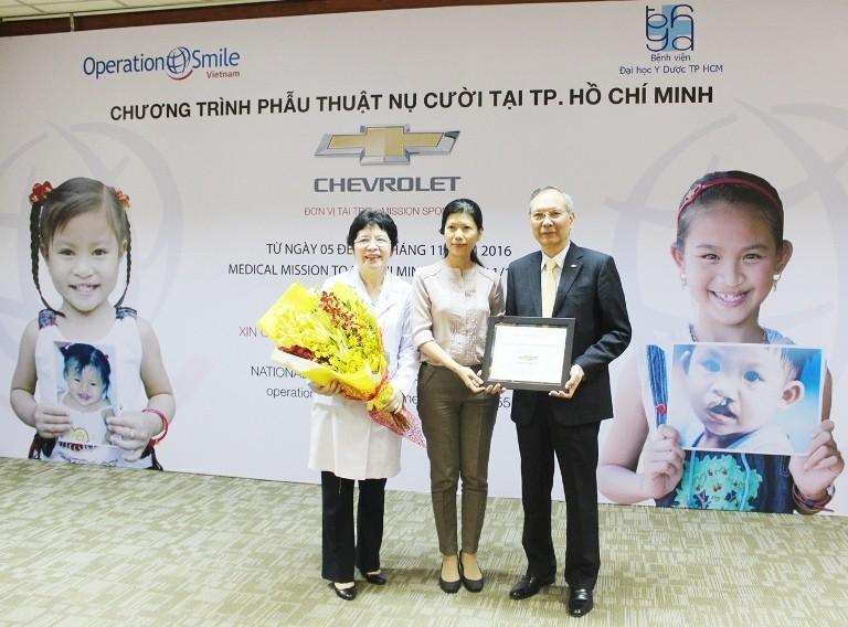 Chevrolet tài trợ phẫu thuật cho trẻ dị tật hàm mặt - ảnh 1