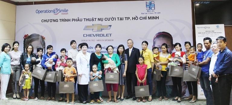 Chevrolet tài trợ phẫu thuật cho trẻ dị tật hàm mặt - ảnh 3