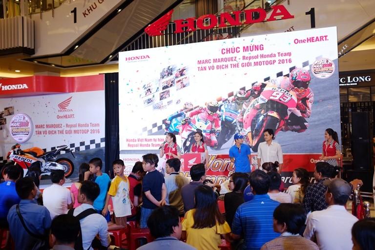 Honda tổ chức lễ chiến thắng của Marc Marquez 93 - ảnh 4