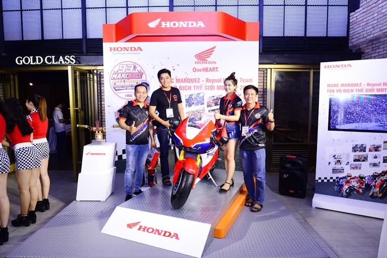 Honda tổ chức lễ chiến thắng của Marc Marquez 93 - ảnh 5