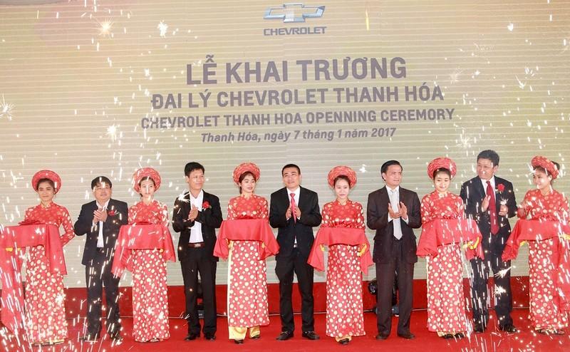GM Việt Nam khai trương đại lý tại Thanh Hóa - ảnh 1