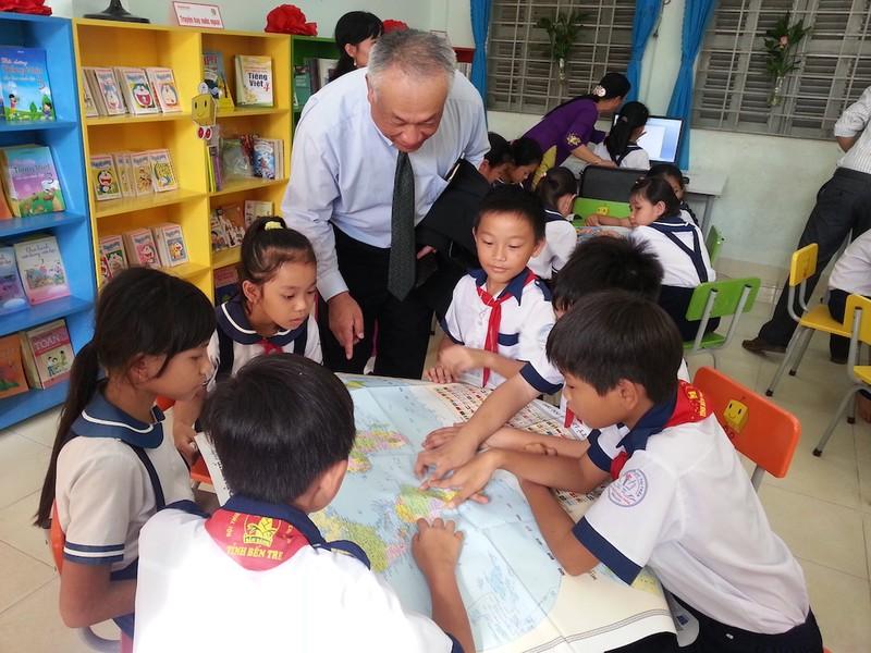 Honda Việt Nam dành 2,5 tỉ đồng cho khuyến học - ảnh 3