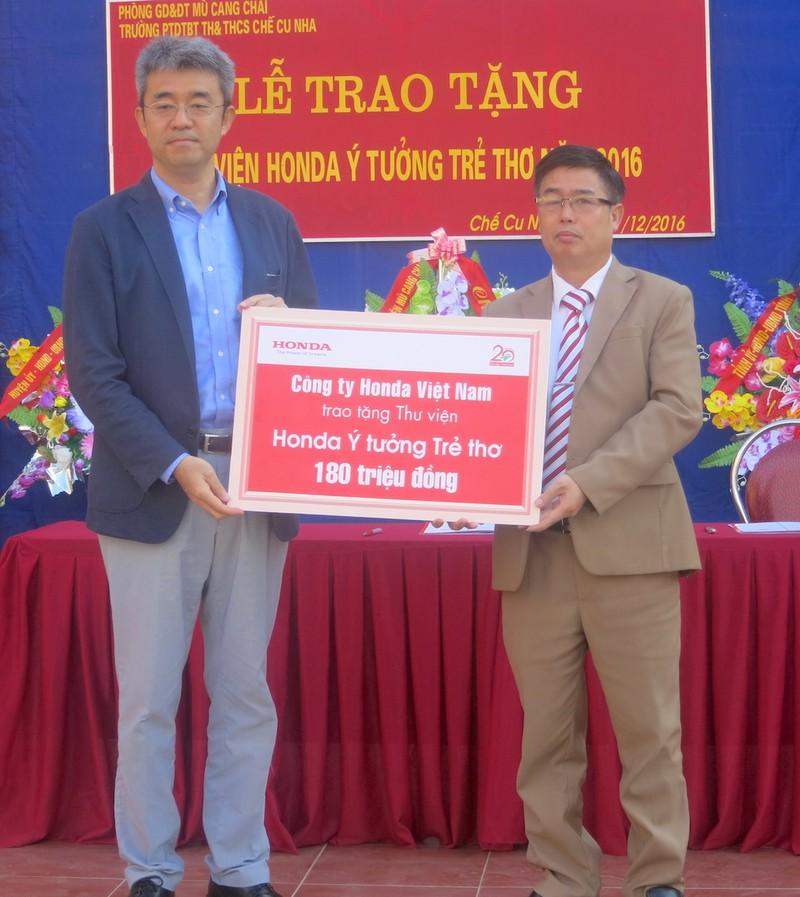 Honda Việt Nam dành 2,5 tỉ đồng cho khuyến học - ảnh 4