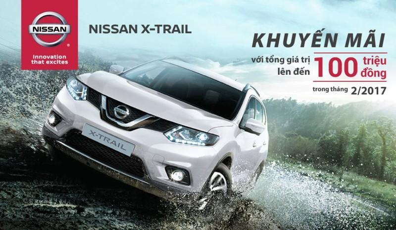Nissan X-Trail khuyến mãi gần 100 triệu đồng - ảnh 1