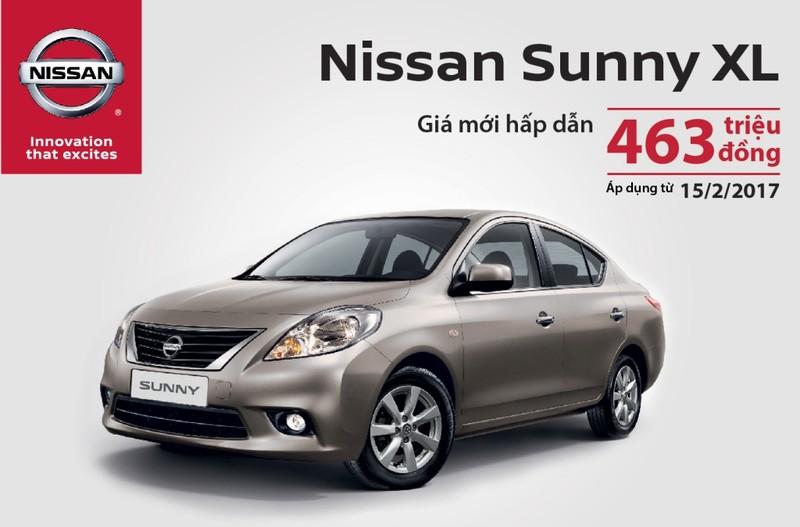 Nissan Sunny giảm giá mạnh còn 463 triệu đồng - ảnh 1