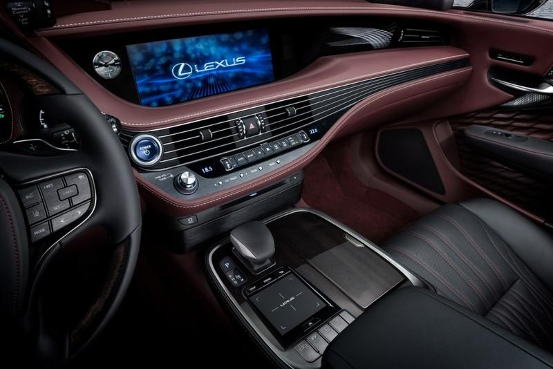 Hào nhoáng mẫu xe Lexus LS 500h hoàn toàn mới - ảnh 12
