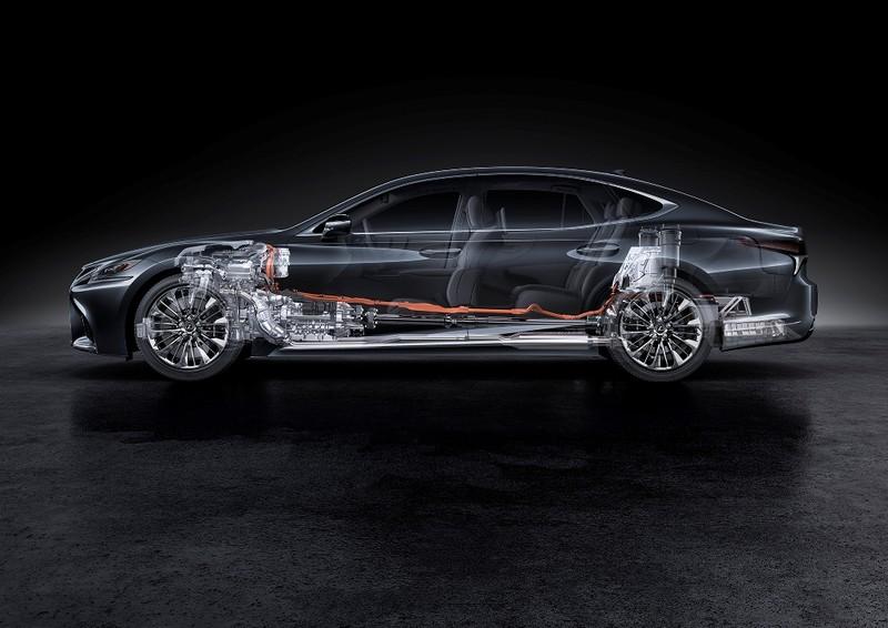 Hào nhoáng mẫu xe Lexus LS 500h hoàn toàn mới - ảnh 1