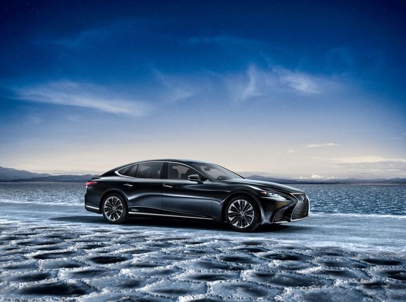 Hào nhoáng mẫu xe Lexus LS 500h hoàn toàn mới - ảnh 2