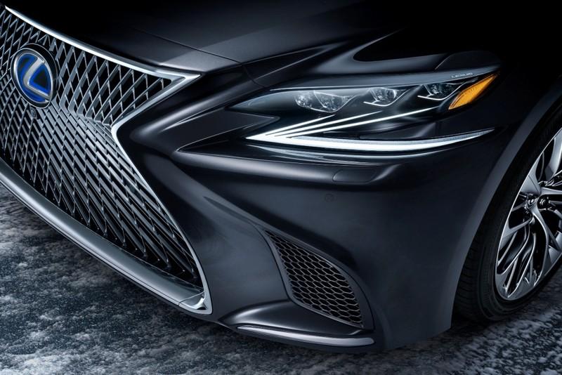 Hào nhoáng mẫu xe Lexus LS 500h hoàn toàn mới - ảnh 5