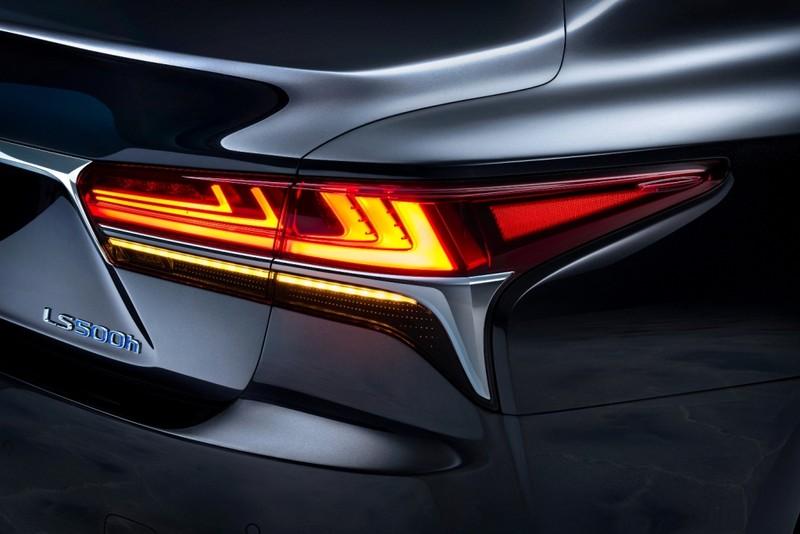 Hào nhoáng mẫu xe Lexus LS 500h hoàn toàn mới - ảnh 6