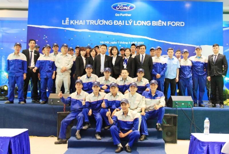 Ford khai trương Long Biên Ford - Hà Nội - ảnh 3