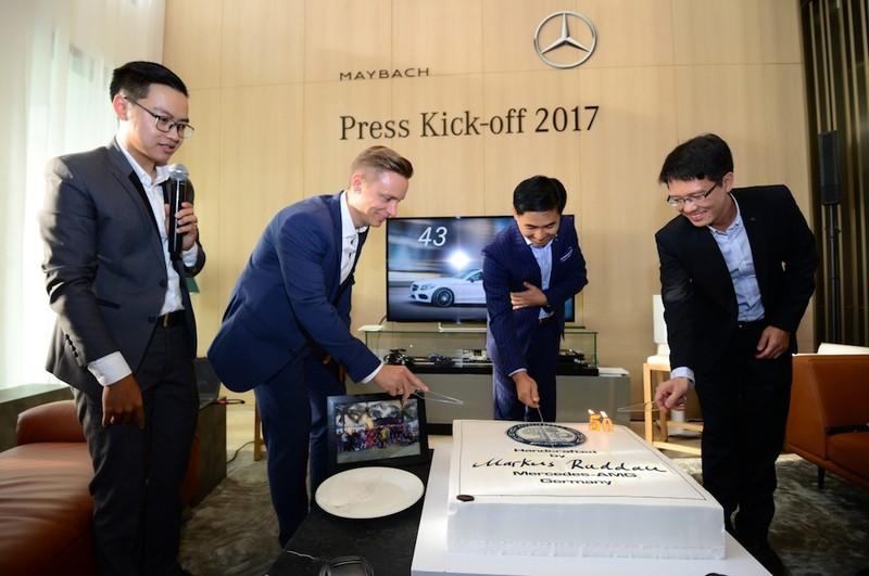 Mercedes-Benz VN nâng cao trải nghiệm thương hiệu 2017 - ảnh 1