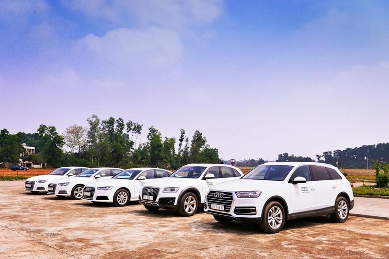 Audi Việt Nam hỗ trợ cho lái xe dịp APEC 2017 - ảnh 1