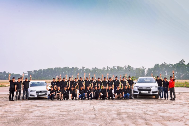 Audi Việt Nam hỗ trợ cho lái xe dịp APEC 2017 - ảnh 2