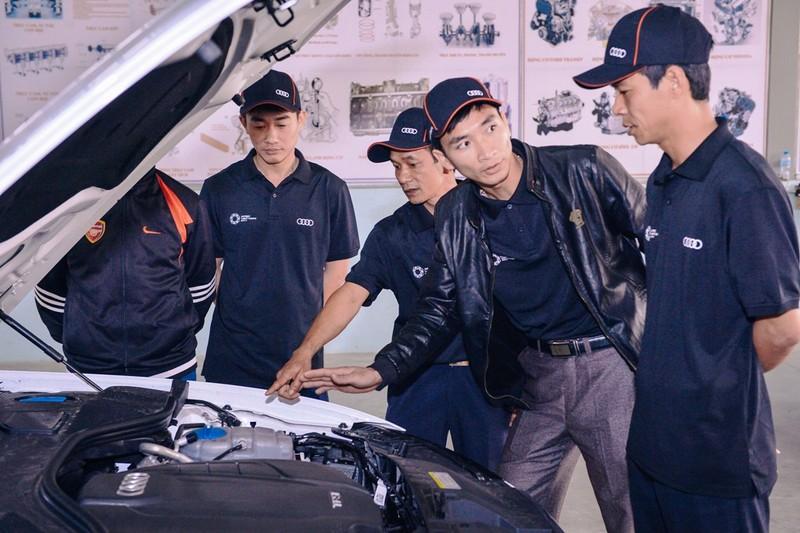 Audi Việt Nam hỗ trợ cho lái xe dịp APEC 2017 - ảnh 3