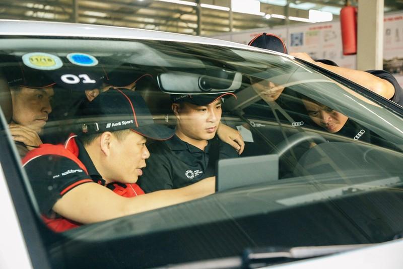 Audi Việt Nam hỗ trợ cho lái xe dịp APEC 2017 - ảnh 4