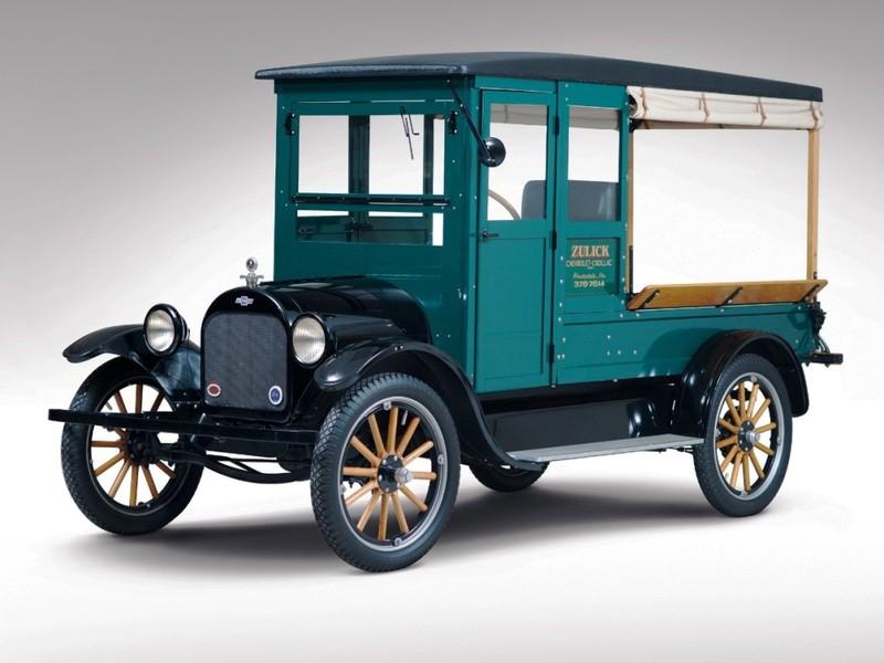 Ngỡ ngàng các mẫu xe tải Chevrolet trong 100 năm qua - ảnh 2