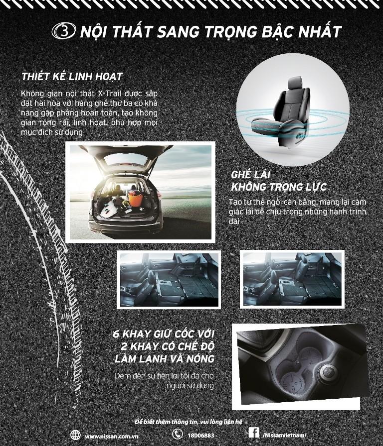 Ba điểm ưu việt của Nissan X-Trail - ảnh 4