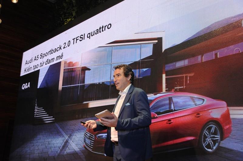 Audi A5 Sportback mới: Thể thao & lịch lãm - ảnh 1