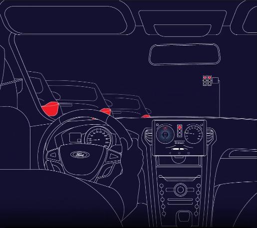 Ford thử nghiệm công nghệ giảm thời gian chờ đèn đỏ - ảnh 1