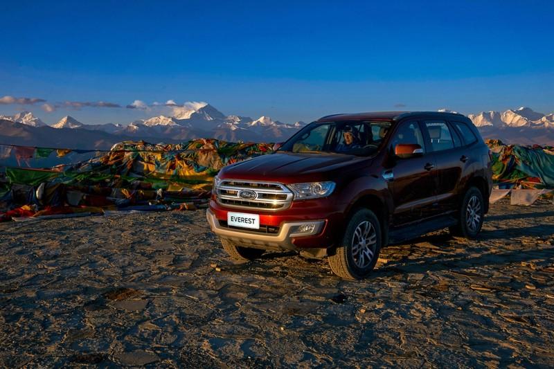 Ford Everest chinh phục thành công đỉnh Everest - ảnh 4
