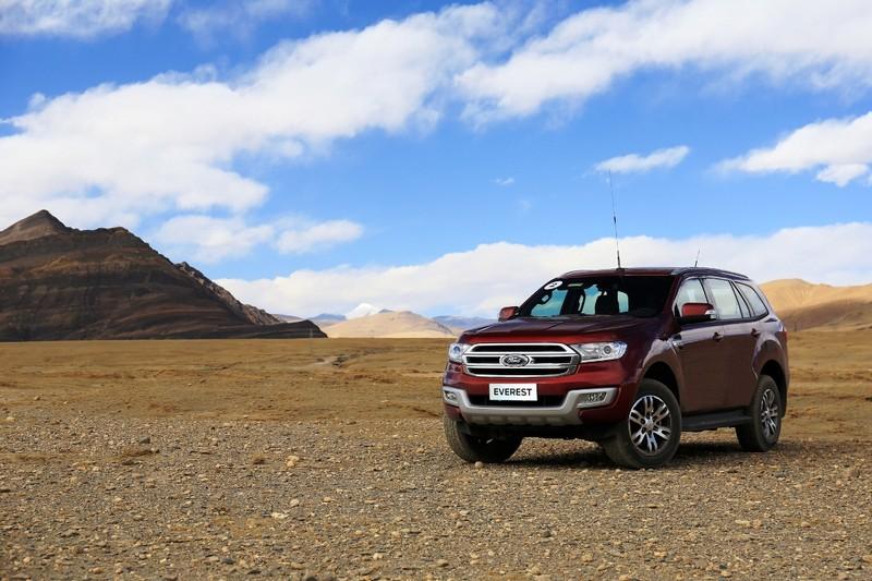 Ford Everest chinh phục thành công đỉnh Everest - ảnh 5