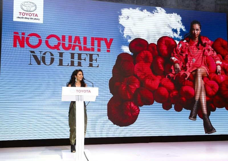 Toyota chọn Suboi làm đại sứ dự án NO QUALITY. NO LIFE - ảnh 3