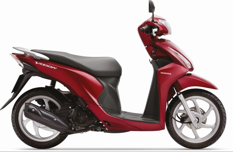Honda Vision cải tiến mới, thêm nhiều màu mới - ảnh 2