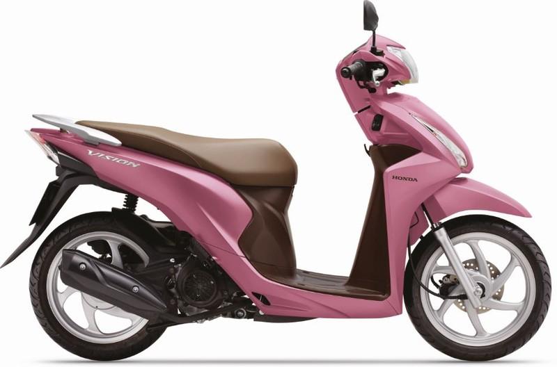 Honda Vision cải tiến mới, thêm nhiều màu mới - ảnh 4
