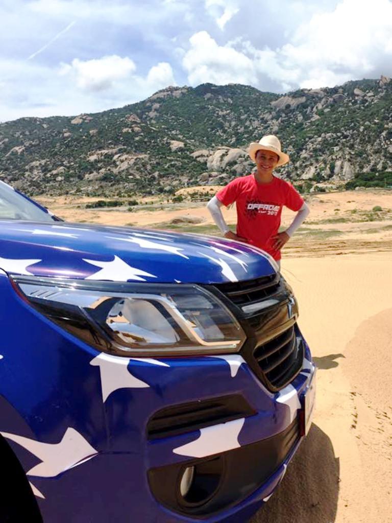 Colorado 'Vua sa mạc' tại Mui Dinh Challenge 2017 - ảnh 9