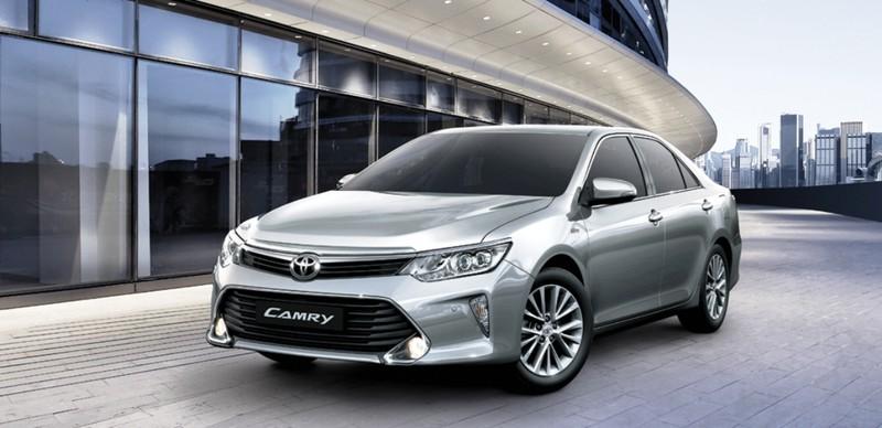Toyota ra mắt Camry mới 2017 - ảnh 1